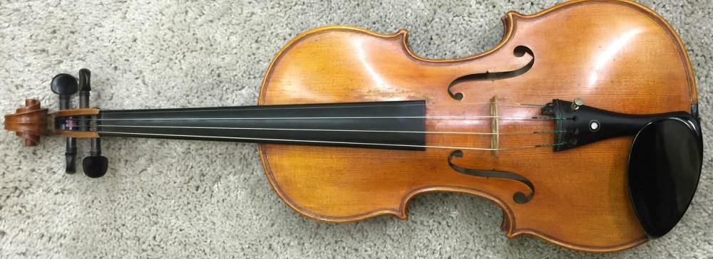 Foto de violín antiguo